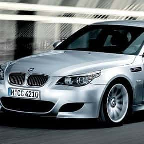 2008 BMW M5 Sedan is listed (or ranked) 12 on the list The Best BMW Sedans of All Time