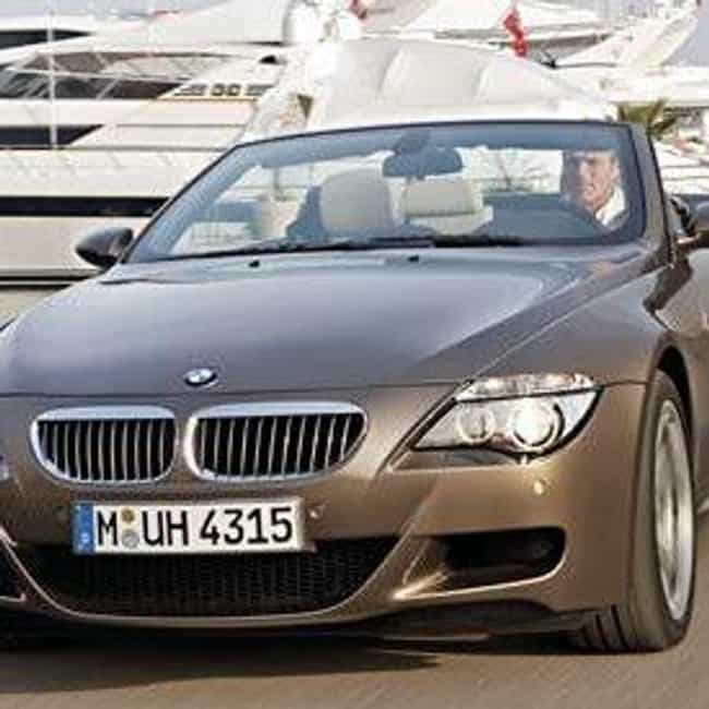 2008 BMW M6 Convertible is listed (or ranked) 3 on the list List of Popular BMW M6s