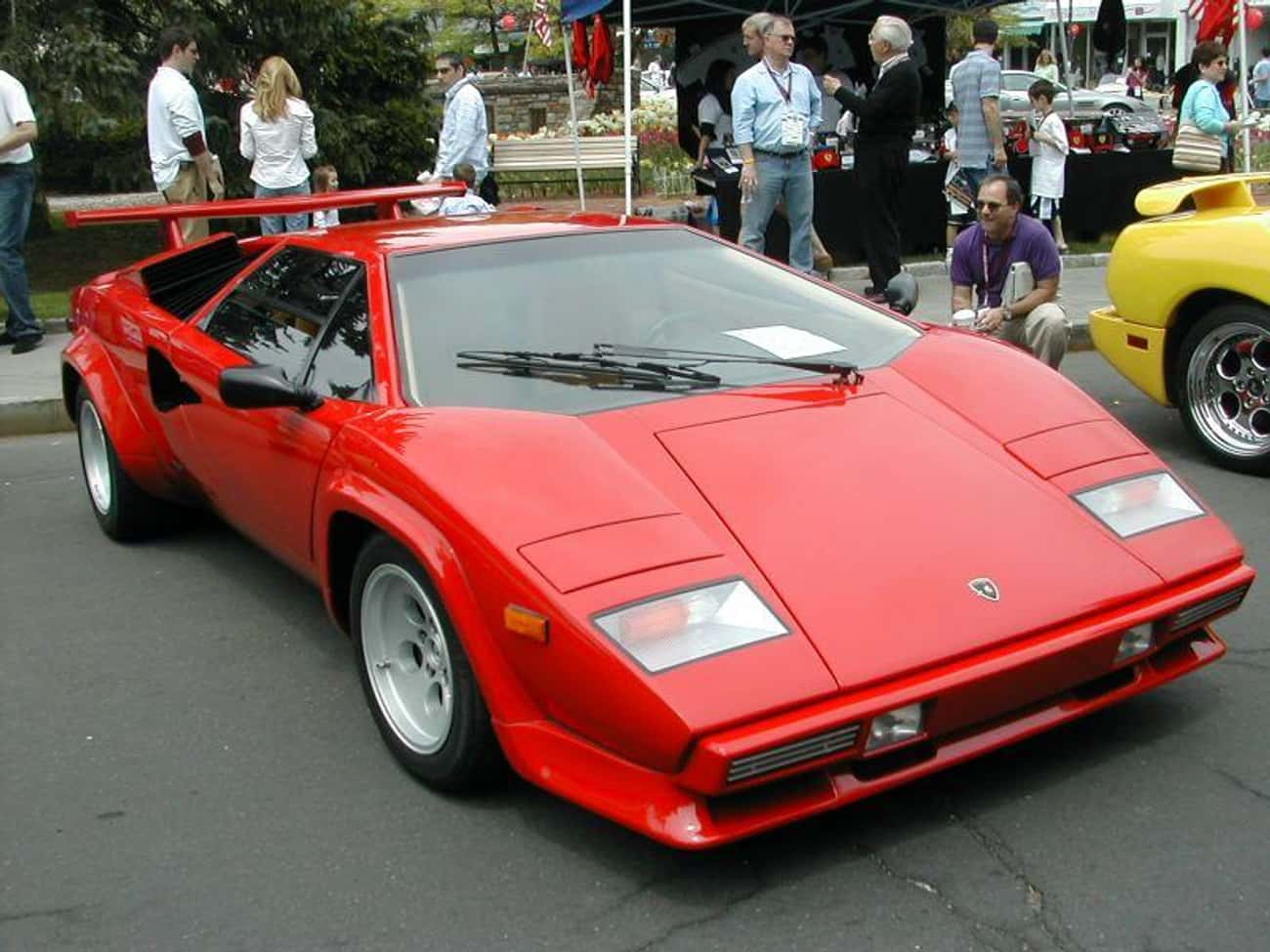 Lamborghini Countach is listed (or ranked) 4 on the list 23 Cars You Wish You'd Had as a Kid