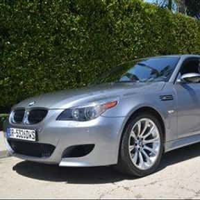 2007 BMW M5 Sedan is listed (or ranked) 18 on the list The Best BMW Sedans of All Time