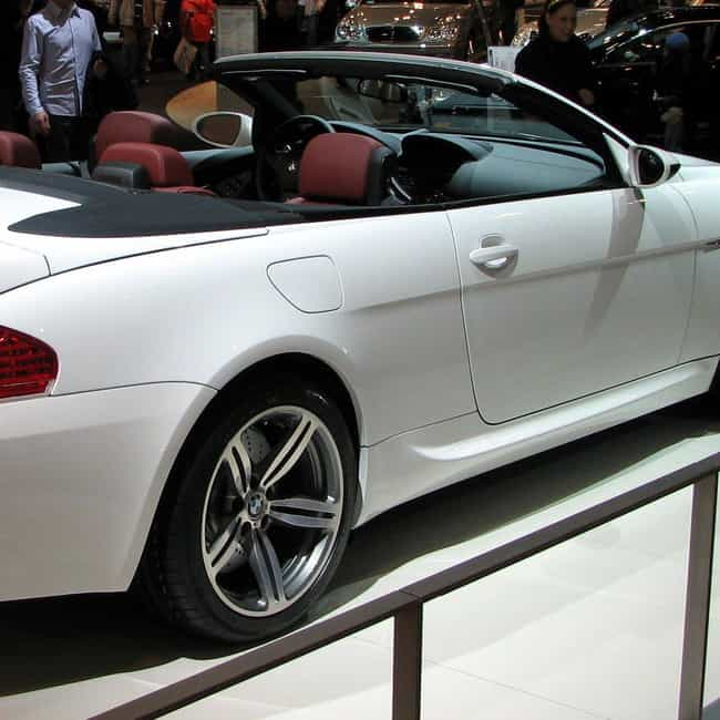2007 BMW M6 Convertible ... is listed (or ranked) 2 on the list The Best BMW M6s of All Time