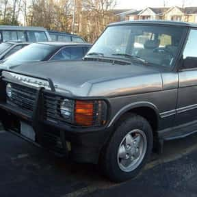 1992 Land Rover Range Rover is listed (or ranked) 13 on the list The Best Sport Utility Vehicles of All Time