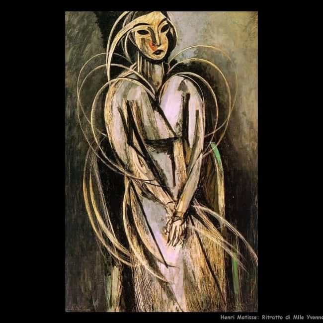 Portrait of Mlle Yvonne ... is listed (or ranked) 3 on the list Famous Portraits by Henri Matisse