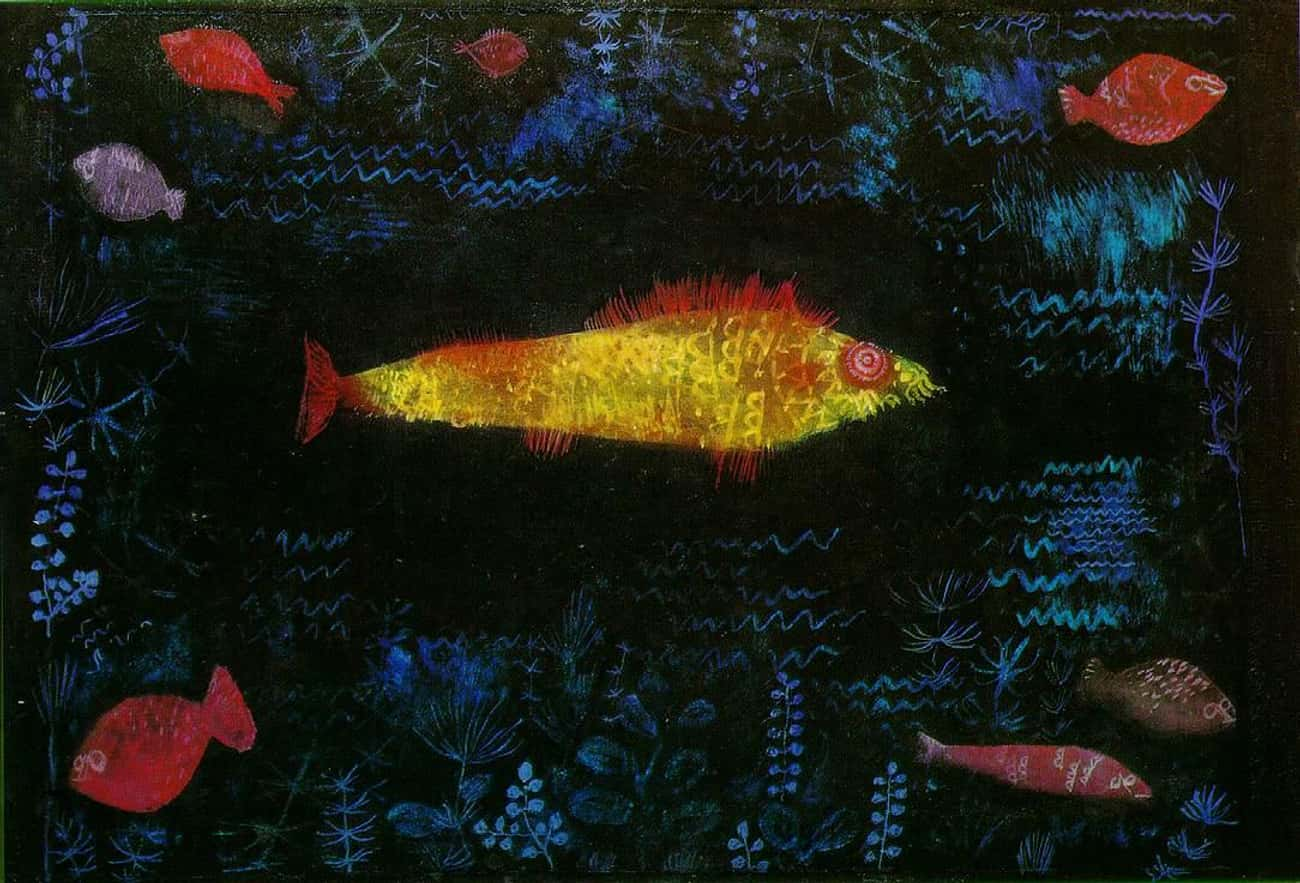 Der Goldfisch is listed (or ranked) 3 on the list Famous Modernism Paintings