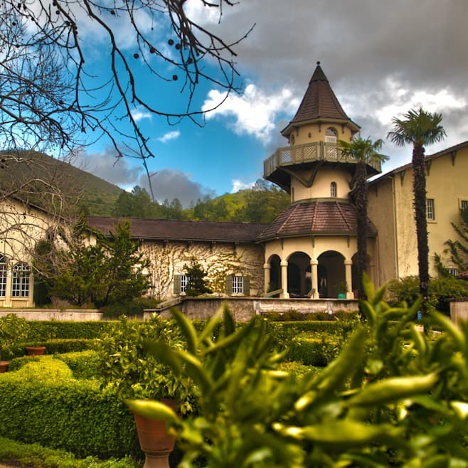 Chateau St. Jean on Random Best Wineries in Sonoma Valley