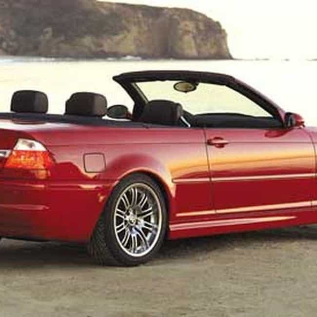 2006 BMW M3 Convertible is listed (or ranked) 3 on the list List of Popular BMW M3s