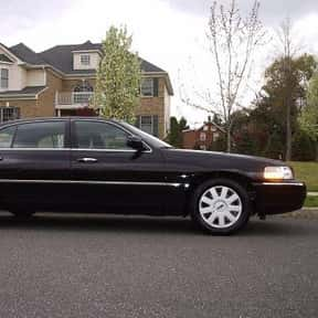 2005 Lincoln Town Car is listed (or ranked) 15 on the list The Best Sedans of All Time