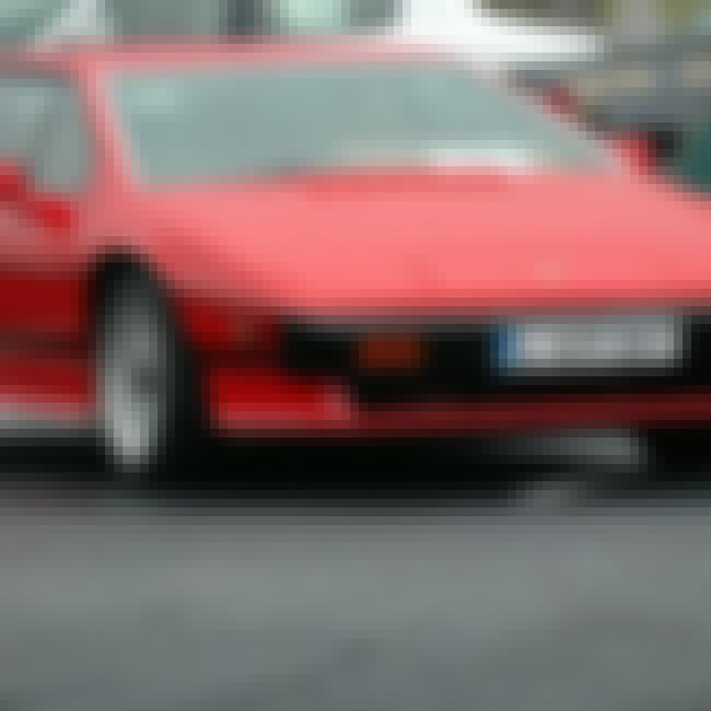 1986 Lotus Esprit is listed (or ranked) 2 on the list List of Popular Lotus Esprits