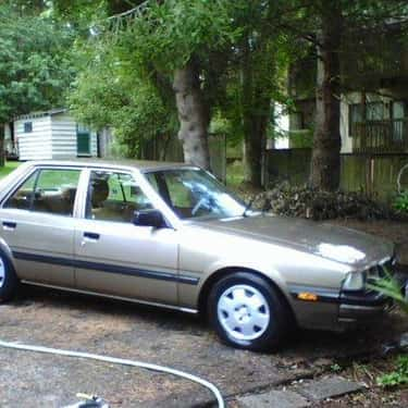 1985 Mazda 626 Sedan is listed (or ranked) 1 on the list List of Popular Mazda Sedans