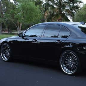 2005 BMW 745 is listed (or ranked) 25 on the list The Best BMW Sedans of All Time