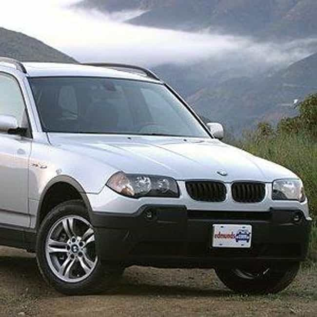 2005 BMW X3 is listed (or ranked) 2 on the list The Best BMW X3s of All Time