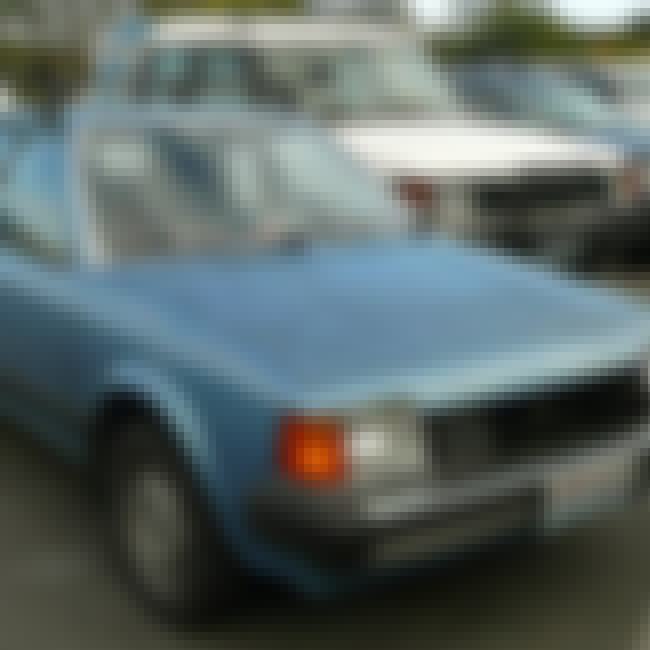 1986 Mazda GLC Sedan is listed (or ranked) 4 on the list List of Popular Mazda Familias