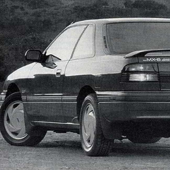 1989 Mazda MX-6 is listed (or ranked) 2 on the list List of Popular Mazda MX-6s