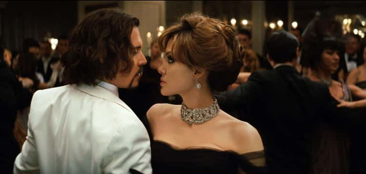 """Angelina Jolie And Johnny Depp In """"The Tourist"""""""