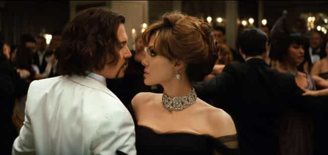 The Tourist is listed (or ranked) 1 on the list 17 Onscreen Couples With No Chemistry