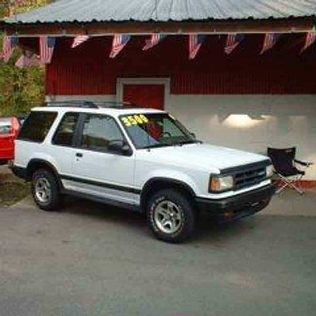 1994 Mazda Navajo SUV 4x4 is listed (or ranked) 4 on the list List of Popular Mazda SUV 4x4s