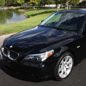 2005 BMW 545 is listed (or ranked) 19 on the list The Best BMW Sedans of All Time