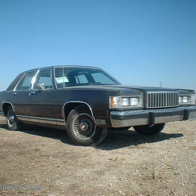 1986 Mercury Grand Marquis Cou... is listed (or ranked) 4 on the list List of Popular Mercury Grand Marquiss