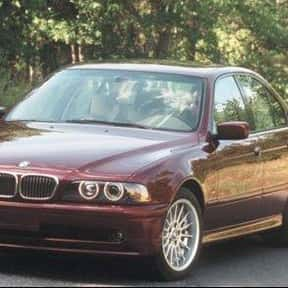 2002 BMW 525 Sedan is listed (or ranked) 3 on the list The Best Sedans of All Time