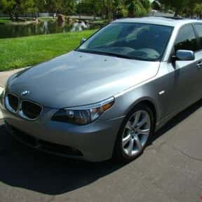 2004 BMW 545 is listed (or ranked) 23 on the list The Best BMW Sedans of All Time
