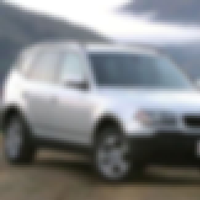 2004 BMW X3 is listed (or ranked) 3 on the list The Best BMW X3s of All Time