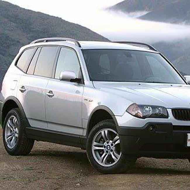 2004 BMW X3 is listed (or ranked) 4 on the list The Best BMW X3s of All Time