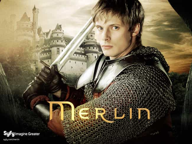 Merlin is listed (or ranked) 4 on the list What to Watch If You Love 'Doctor Who'