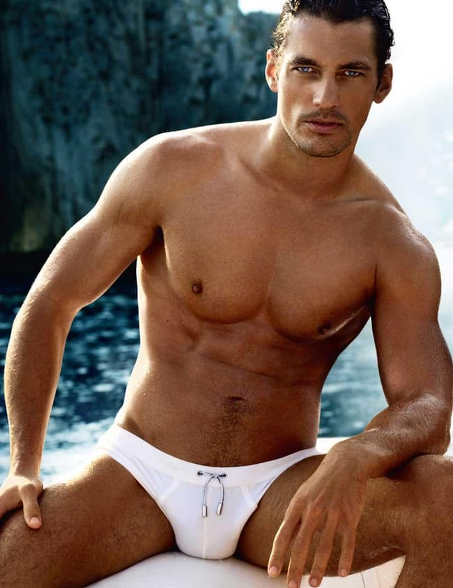 David Gandy Is Listed Or Ranked  On The List Celebs In Speedos
