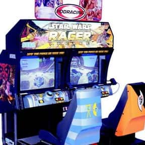 Star Wars: Racer Arcade is listed (or ranked) 22 on the list The Best Arcade Racing Games Of All Time