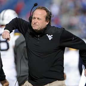 Dana Holgorsen is listed (or ranked) 2 on the list The Most High Strung Coaches in College Sports