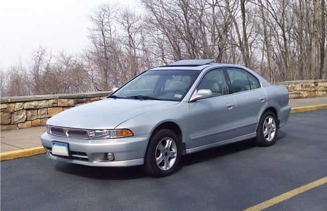 2000 Mitsubishi Galant is listed (or ranked) 4 on the list List of 2000 Mitsubishis