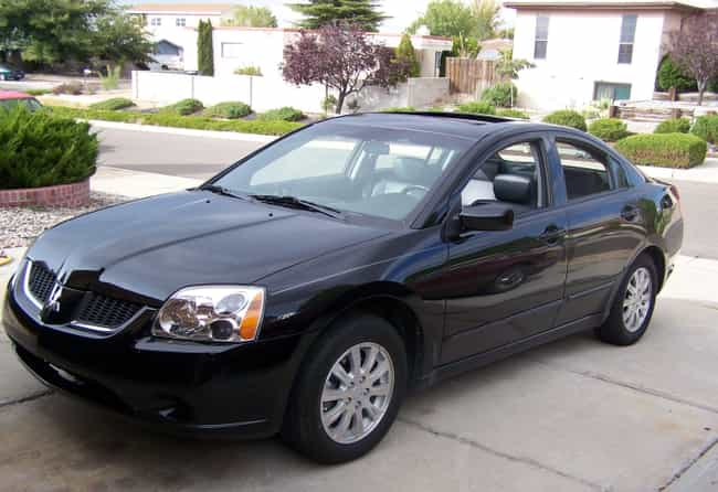 2006 Mitsubishi Galant is listed (or ranked) 4 on the list List of Popular Mitsubishi Galants