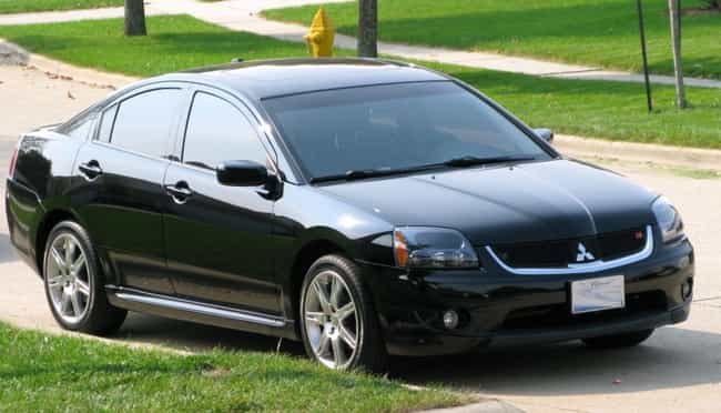2007 Mitsubishi Galant is listed (or ranked) 3 on the list List of Popular Mitsubishi Galants