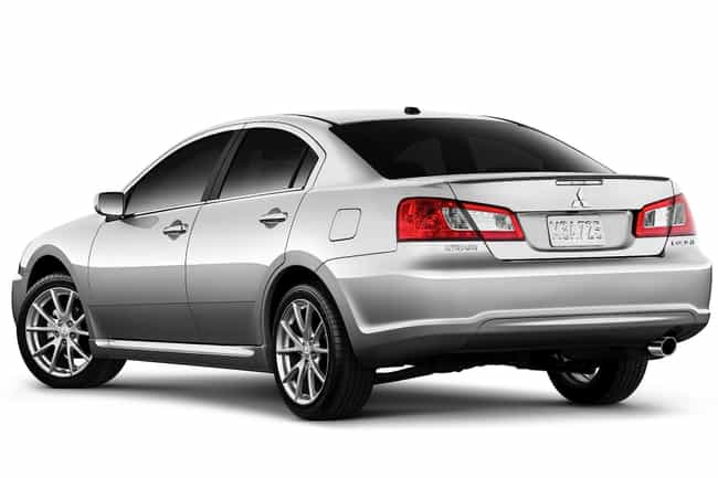 2008 Mitsubishi Galant is listed (or ranked) 2 on the list List of Popular Mitsubishi Galants