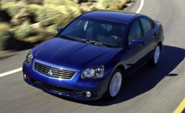 2009 Mitsubishi Galant is listed (or ranked) 1 on the list List of Popular Mitsubishi Galants