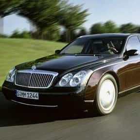 2005 Maybach 57 is listed (or ranked) 24 on the list The Best Sedans of All Time