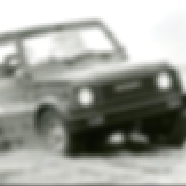 1986 Suzuki Samurai Sport util... is listed (or ranked) 2 on the list List of Popular Suzuki SJs