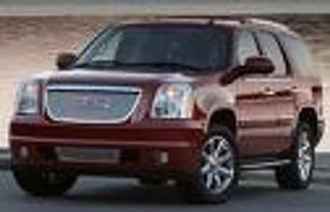 GMC Yukon is listed (or ranked) 1 on the list Full List of GMC Models