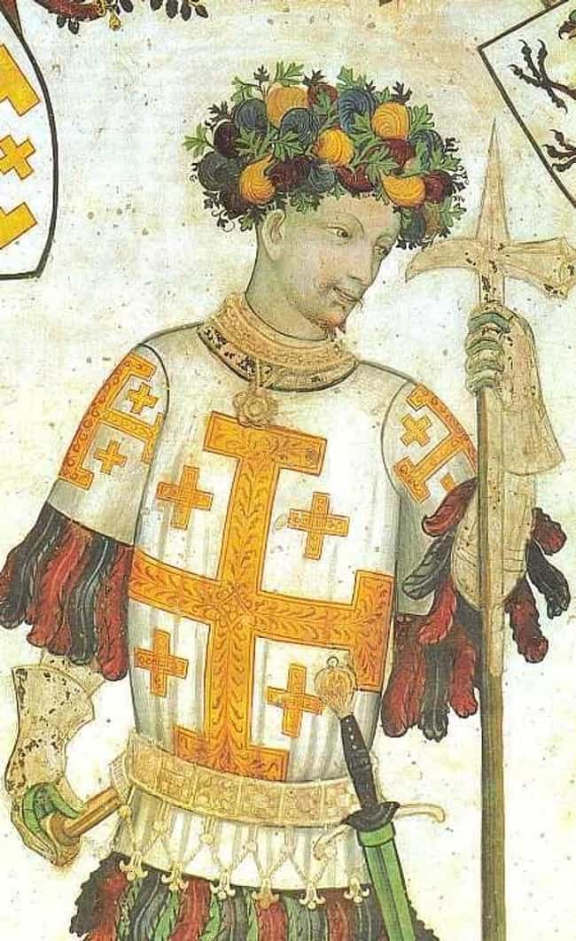 Godfrey of Bouillon is listed (or ranked) 4 on the list The Most Brutal Medieval Monarchs