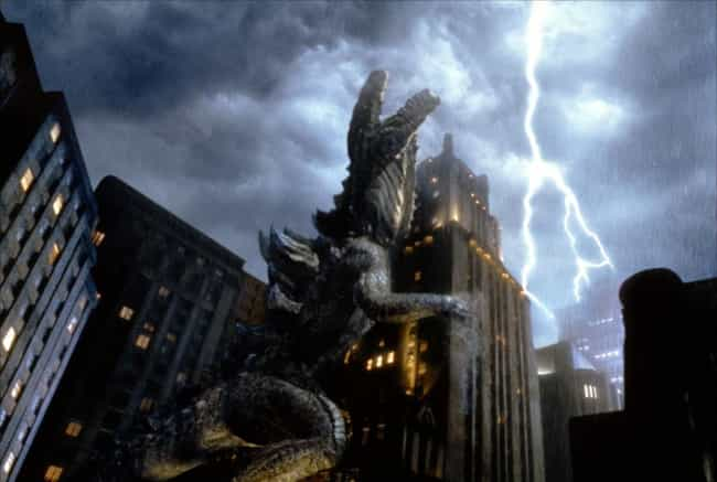 Godzilla is listed (or ranked) 3 on the list Movies You Loved As a Child That Just Don't Hold Up