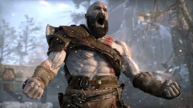 God of War is listed (or ranked) 4 on the list The Most Pointlessly Overpowered Video Game Characters Of All Time
