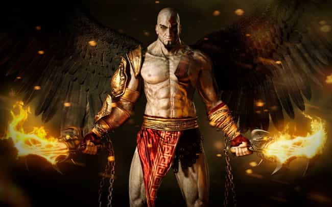 God of War is listed (or ranked) 4 on the list Great Video Game Movies Waiting to Happen