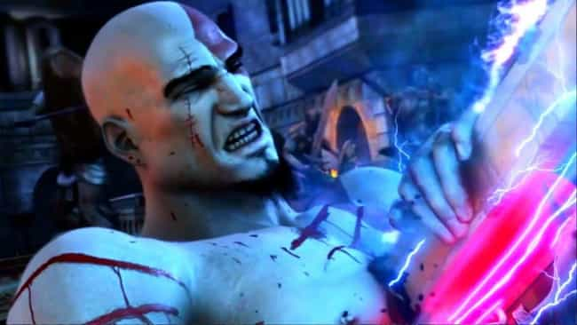 God of War II is listed (or ranked) 5 on the list 12 Times Video Game Heroes Were Destroyed In A Fight