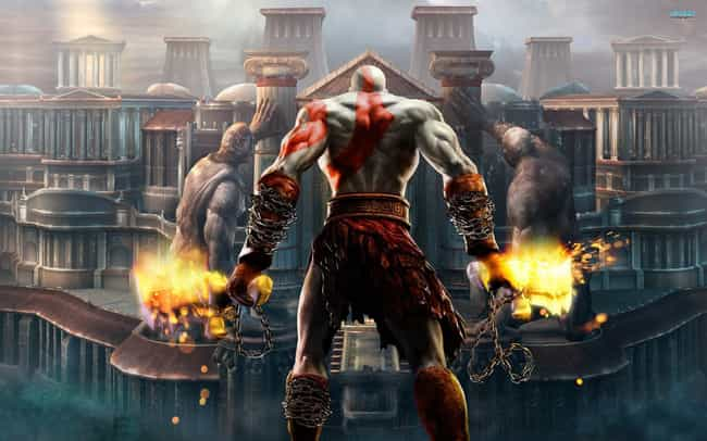God of War II is listed (or ranked) 3 on the list The Most Violent Video Games of All Time