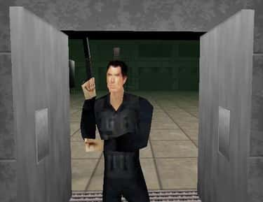GoldenEye 007 is listed (or ranked) 1 on the list These Video Games Were Based On Terrible Movies, Yet They Somehow Turned Out Fantastic
