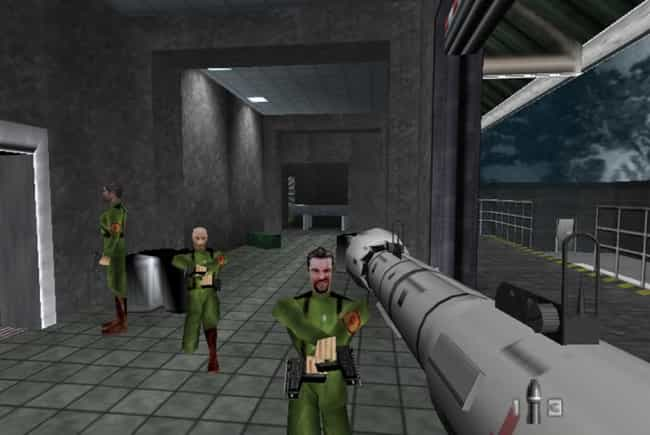 GoldenEye 007 is listed (or ranked) 2 on the list These Are The Video Games That All Other Video Games Copied