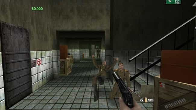 GoldenEye 007 is listed (or ranked) 4 on the list 15 Video Game Classics That Were Almost Never Made