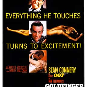 Goldfinger is listed (or ranked) 2 on the list The Best Spy Movies Based on Books