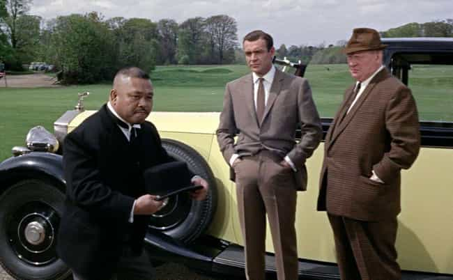 Goldfinger is listed (or ranked) 4 on the list Insane Scenes In Movies That Are Actually Scientifically Possible