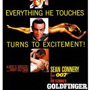 Goldfinger is listed (or ranked) 19 on the list The Best Adventure Movies